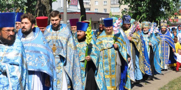 Престольне свято храму Почаївської ікони Божої Матері. Ковель.